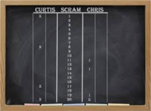 Scram Cricket Darts