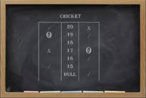 Traditional Cricket darts