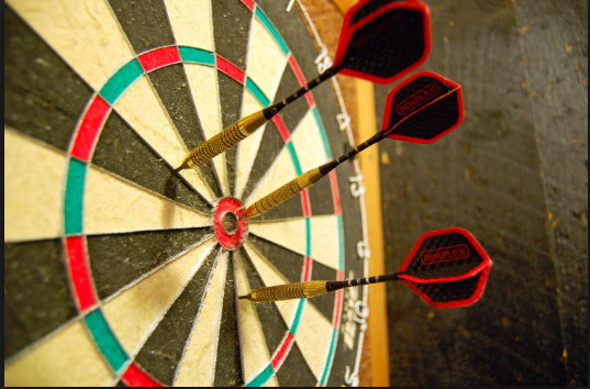 how Dartboards are made