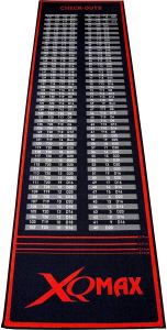 XQ Max Check-Out Dart Mat, Red