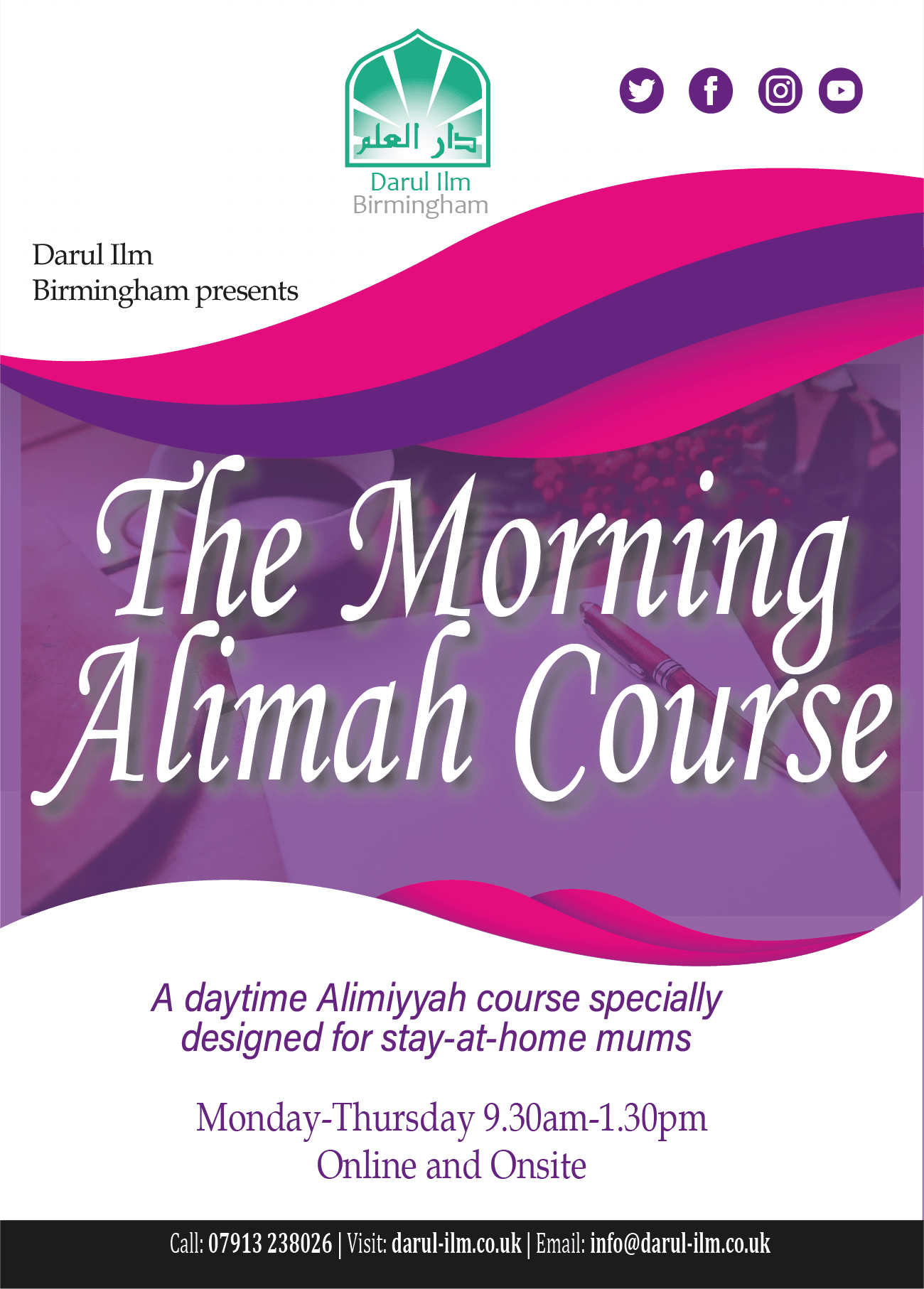 Alimah Course (Online & On-Site)