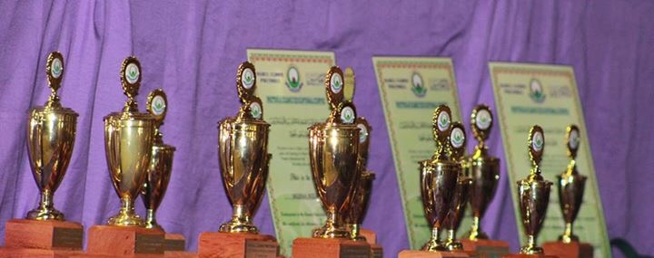 Trophies & Certificates at the Annual Competition 2015 at Darul Uloom Pretoria