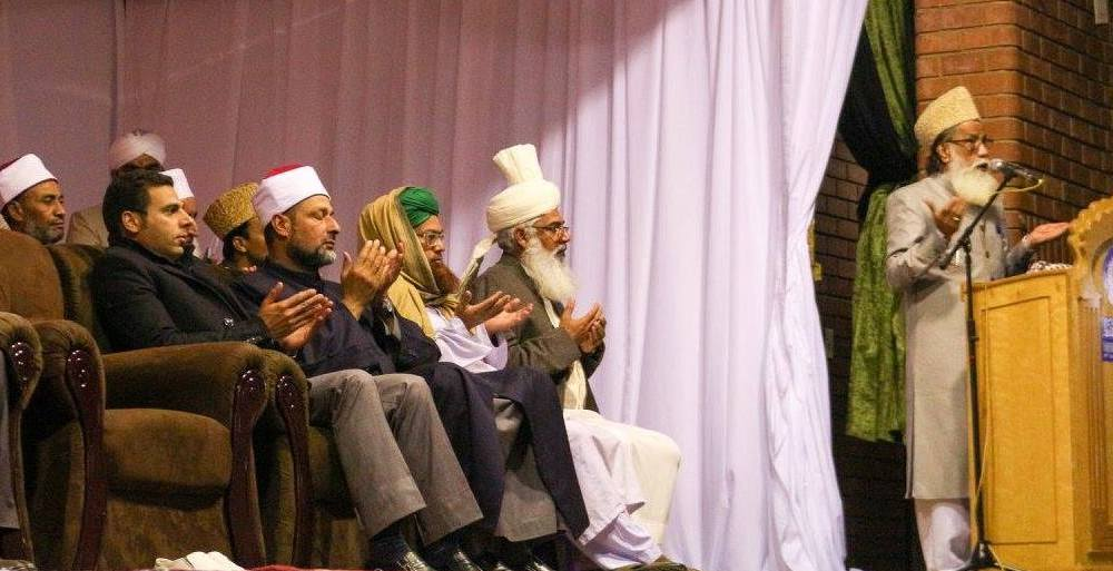 Allama Tauseef Raza Khan at Darul Uloom Pretoria