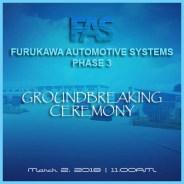 FAS Phase 3 Groundbreaking Ceremony