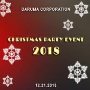 2018 Daruma Corporation Christmas Party Event