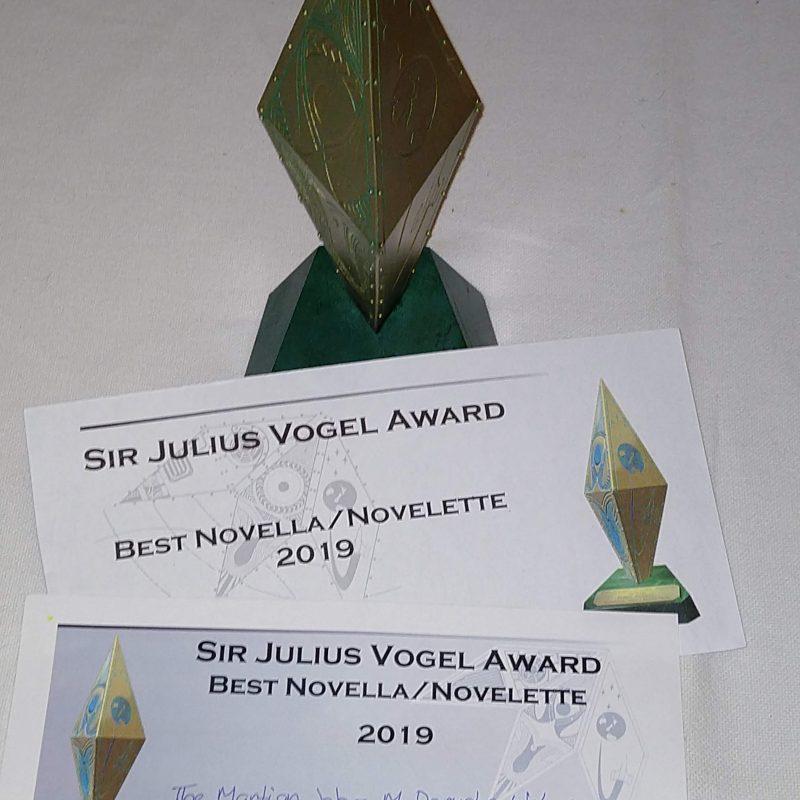 Sir Julius Vogel Award for The Martian Job