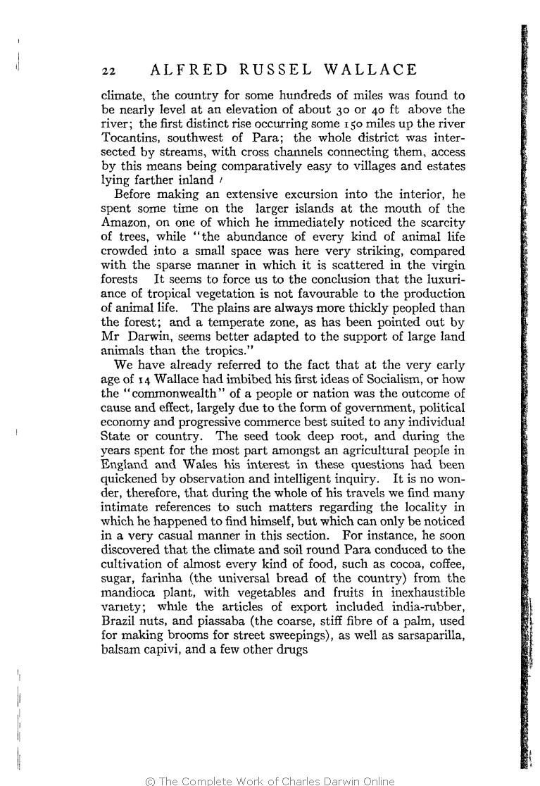 Alfred Russel Wallace Letters And Reminiscences. New York: Harper &  Brothers.