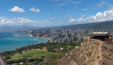 Diamond Head Trail Oahu