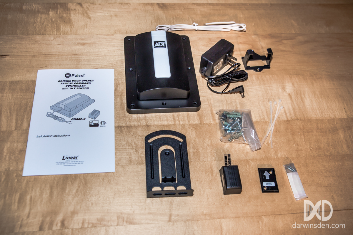 z wave garage doorThe Best ZWave Garage Door Opener  Linear GD00Z Review