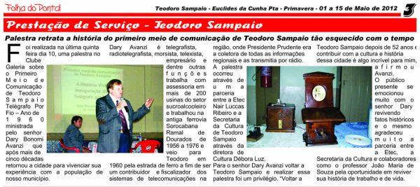 Jornal-dary-reportagem-primeiro-meio-de-comunicacao-teodoro-sampaio