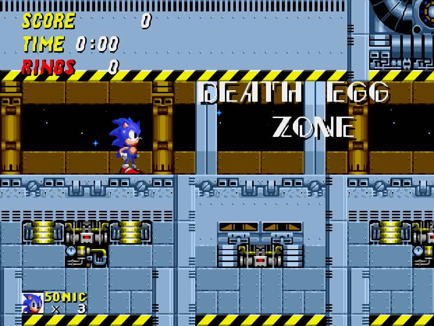 Final Zone Sonic 2 Daryl Baxter