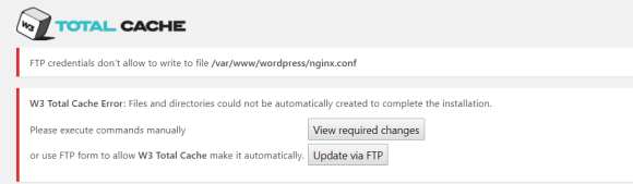 W3 Total Cache nginx.conf error when WordPress with SELinux enabled