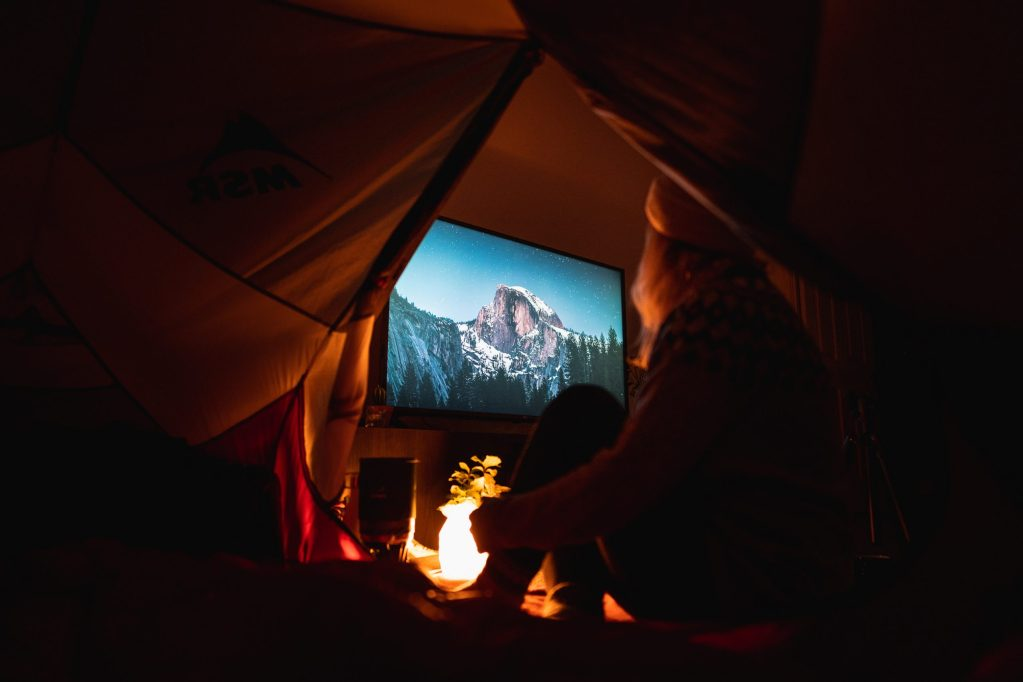 camping indoors yosemite tent fire