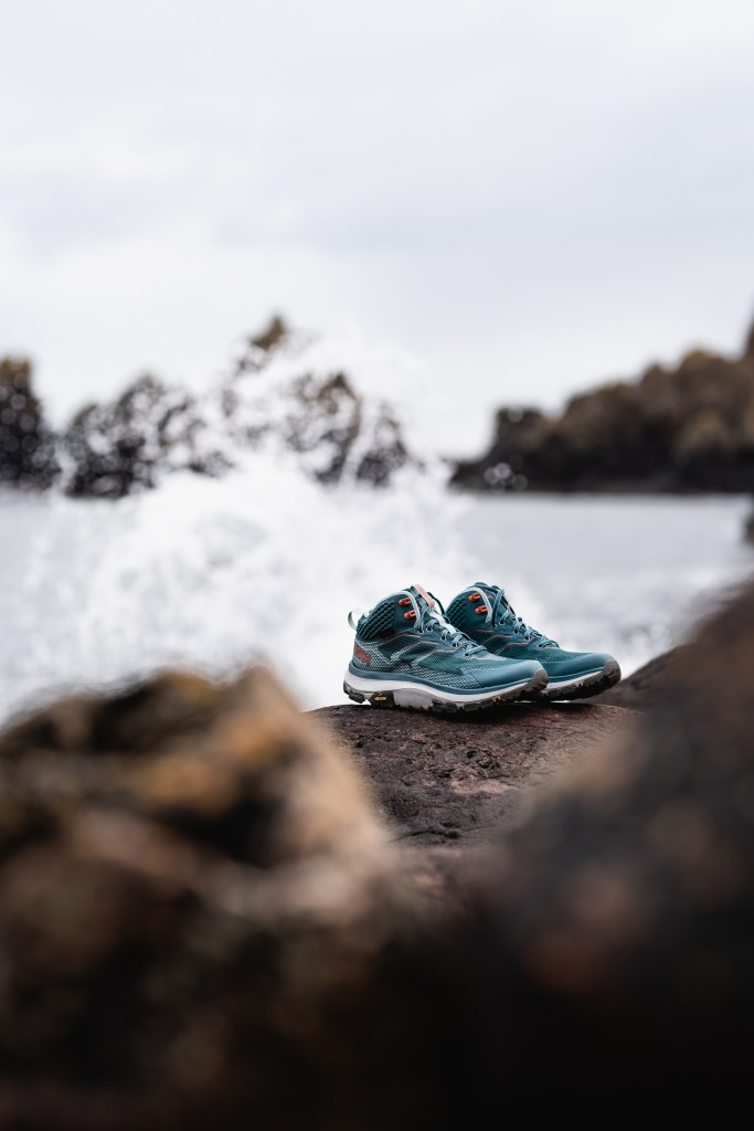 wild seas and a pair of shoes