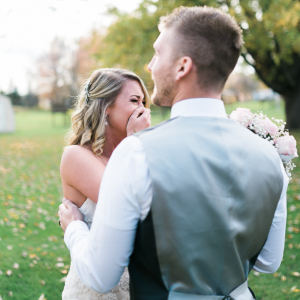 Heather & Matt Koehler realize this isn't your every day bridal shoot.