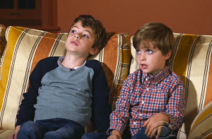 Jack and Emmett Hartman advise their dad, Steve Hartman about how much parents should tells kids about scary news.