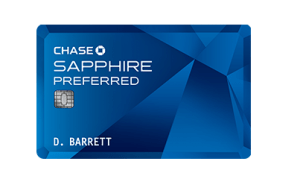 Chase Sapphire Preferred will earn you 50,000 bonus miles when you spend $4,000 in the first three months.