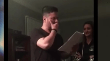 Stepdaughter Misty Knight surprises her stepdad with a petition for adoption.