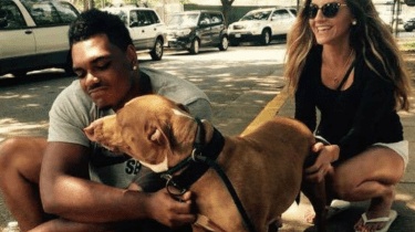 NFL Baltimore Ravens linebacker Ronnie Stanley recently went into BARCS animal shelter and asked to adopt a shelter dog that's been here a long time.