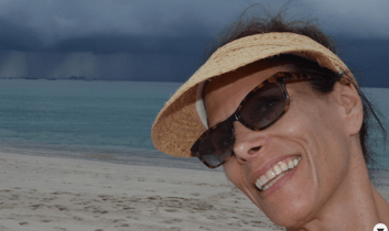Beautiful beaches of Costa Rica with threatening storms in background make great representation of life--the beauty and the storms. The joy and the sorrow.