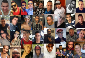 Just some of the beautiful faces of the young people whose lives were cut short at The Pulse Nightclub in Orlando on June 12, 2016.