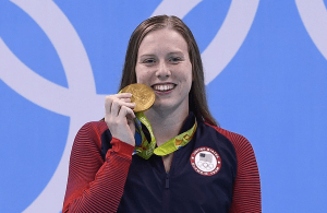 "Best part of winning Olympic Gold? USA swimmer, Lilly King, says, ""We can still compete clean and do well in the Olympic games — and that's how it should be."""
