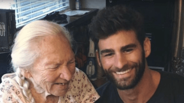 Actor Chris Salvatore is best friend with his 89-year-old neighbor, Norma Cook. When Norma took ill, Chris moved Norma in with him to care for her.