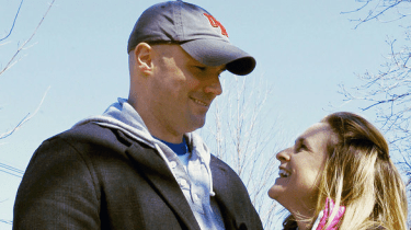 Boston Marathon bombing survivor Roseann Sdoia is getting married to Mike Materia, the firefighter who saved her life.