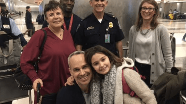 American Greg Krentzman who was severely injured during the Bastille Day truck attack in Nice, France is finally back home in America as a survivor.
