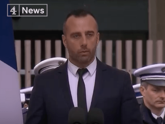 "Husband Of Fallen Police Officer ""You Will Not Have My Hatred"""
