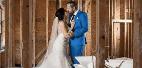 Shellie Schoellkopf and Robert Callaway cancel their October wedding reception. They will donate $5,000 to victims of Hurricane Harvey instead.