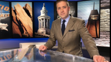 When KUSA news anchor Kyle Clark received a viewer's suit jacket in the mail with a note from the viewer's wife, he knew there was only one thing to do.