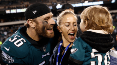 Philadelphia Eagles defensive end Chris Long donated his entire 2017 salary to charity.