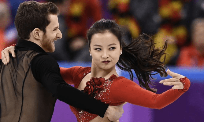 Wardrobe Malfunction Can't Stop Ice Dancer Yura Min As She Improvises Routine In Seoul Olympics