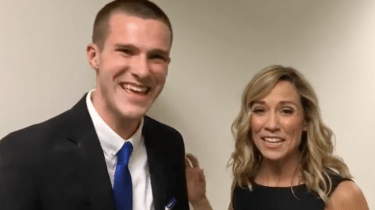 Noah Jack Cummins couldn't speak as a child. He has autism. He learned to speak by singing Sheryl Crow songs. He recently got to meet her.