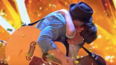 "Jack and Tim Goodacke get a well-deserved ""Golden Buzzer"" moment on Britain's Got Talent for their song The Lucky Ones."