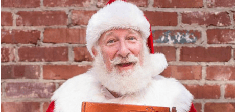 Rick Rosenthal is Jewish and loves playing Santa.