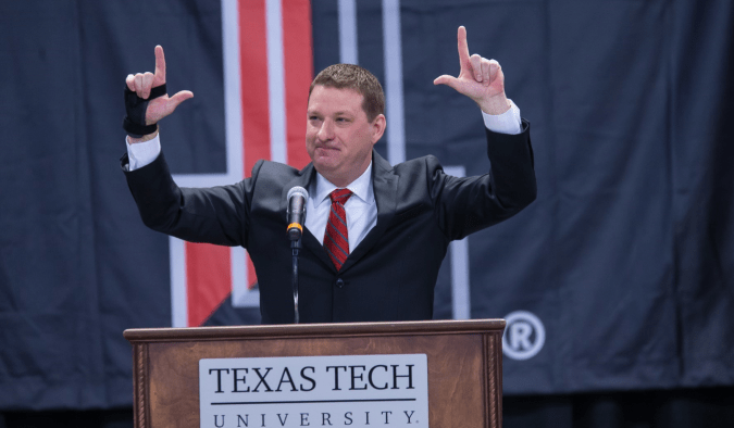 Texas Tech Men's Basketball coach Chris Beard loves the move that banned cellphones for his players on road trip nights.