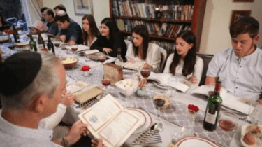 Marnie Fienberg is channeling her grief in losing her mother-in-law, Joyce Fienberg, to encouraging folks to invite two non-Jewish guests to Passover Seder. Her movement is called 2forseder.org.