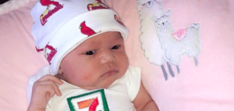 7-Eleven stores set up a generous college scholarship fund for a baby born on 7-11.