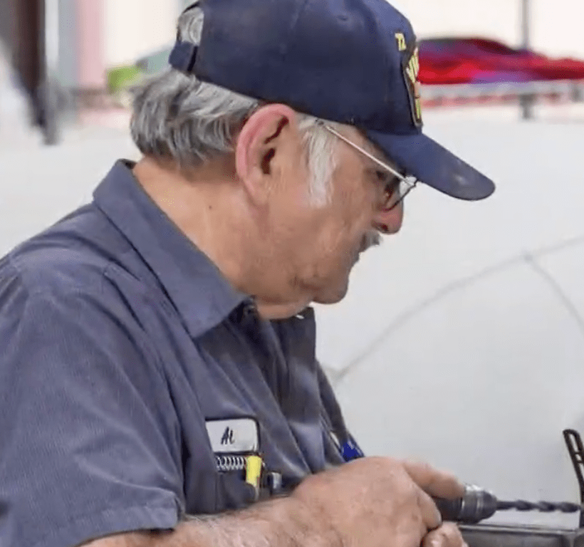 Albert Brigas has been a model employee at Renown Auto Restoration. Now his boss has paid off his mortgage so he can retire early.