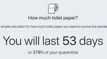 HowMuchToiletPaper.com calculates how long your current toilet paper supply will last.