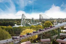 Blick über das Heide Park Resort