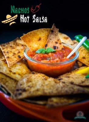 Nachos & Hot Salsa