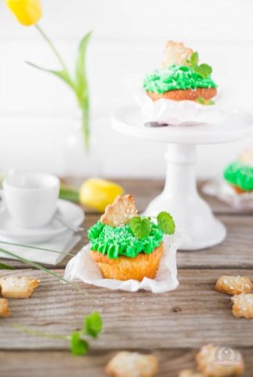 Froschkönig Cupcakes