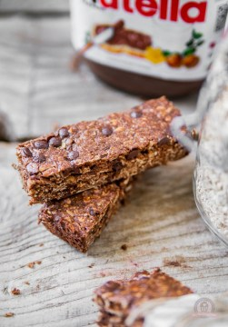 Nutella Breakfast Bars