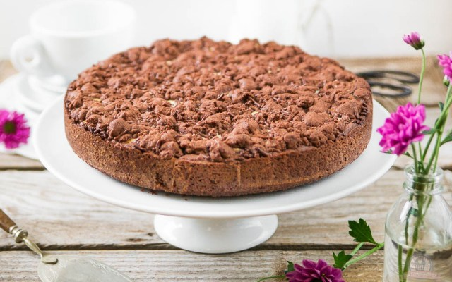 Schoko-Kirsch-Streuselkuchen – mit Stri-Stra-Streuselkuchen in eine neue Runde…