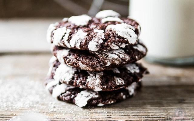 Chocolate Crinkles – versüß dir doch den Tag mit ein paar Cookies…