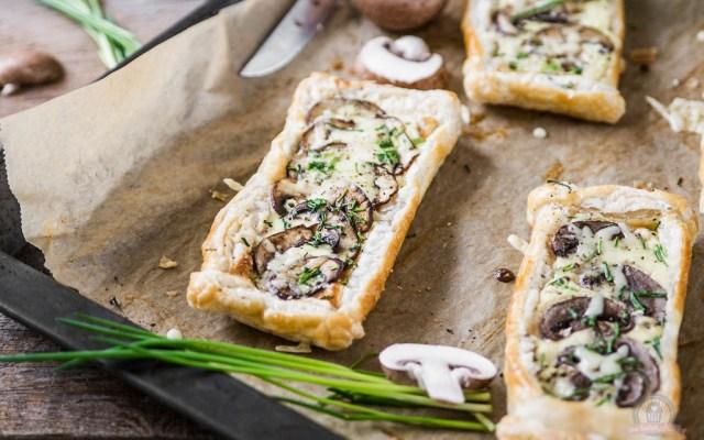 Pilz Tartelettes – ein herbstlich, herzhafter Snack…