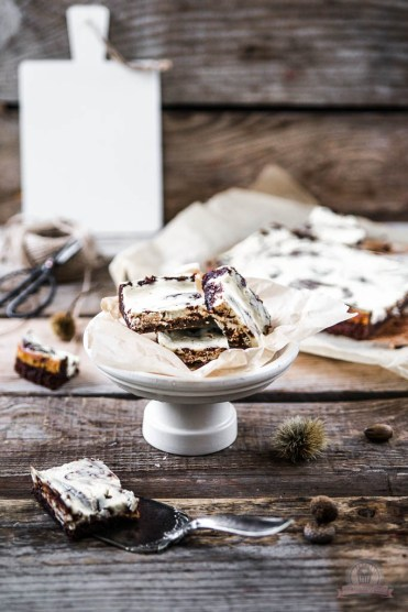 Marmor Cheesecake Brownies